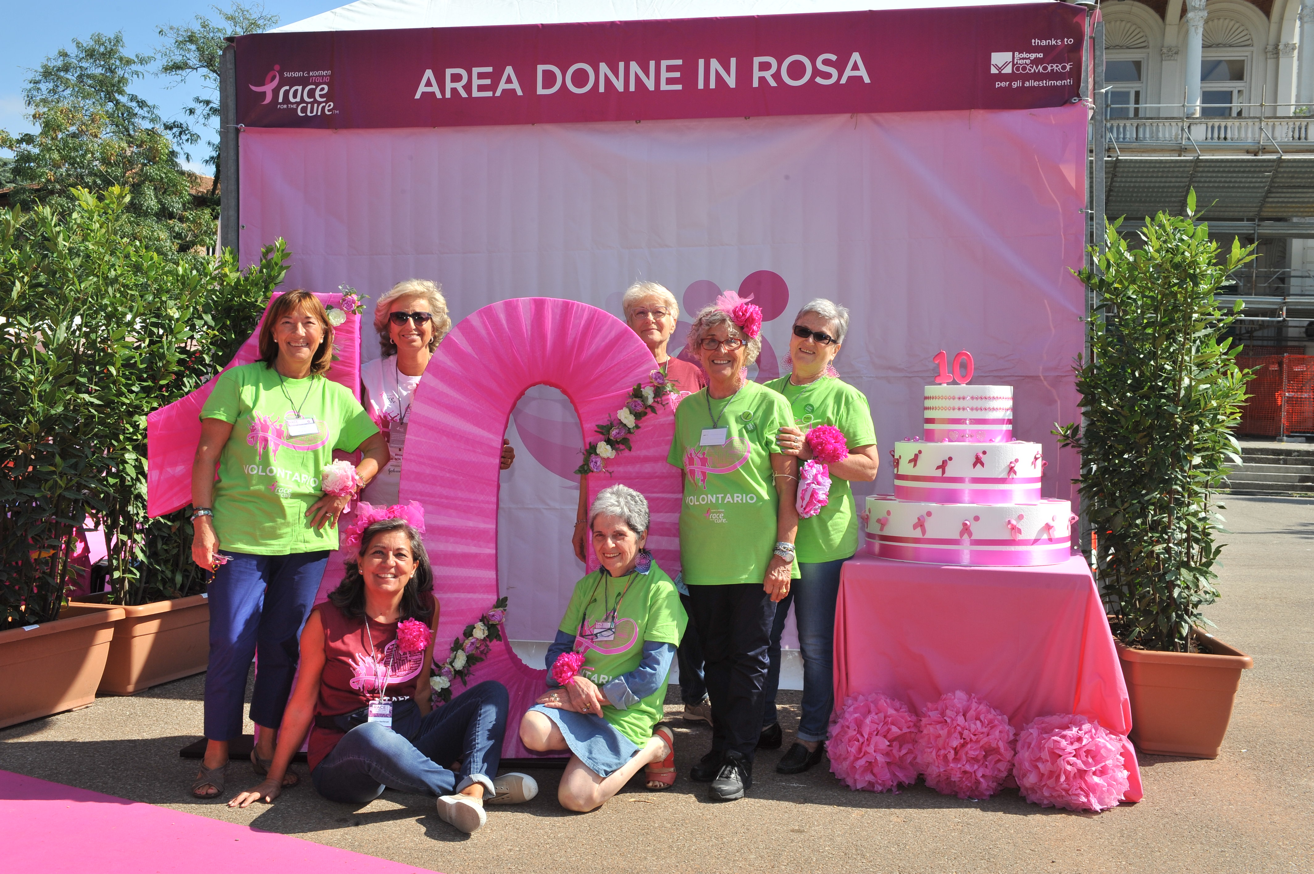 Domani la Race for the Cure