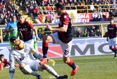 BOLOGNA INTER Vassilis Torosidis of Bologna Fc