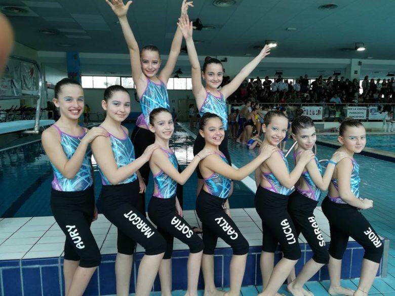 Nuoto sincronizzato i risultati del memorial ghermandi - Piscina seven savignano ...