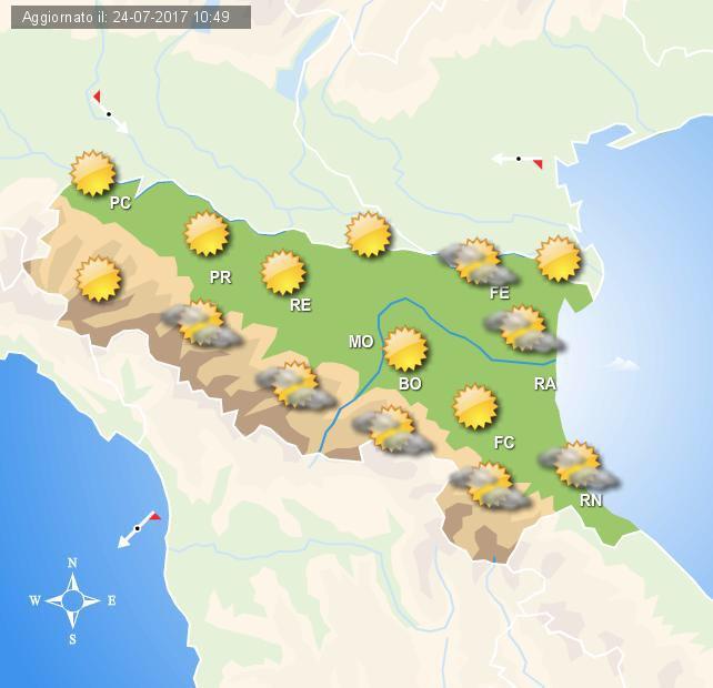 Meteo, domani tempo stabile su Bologna