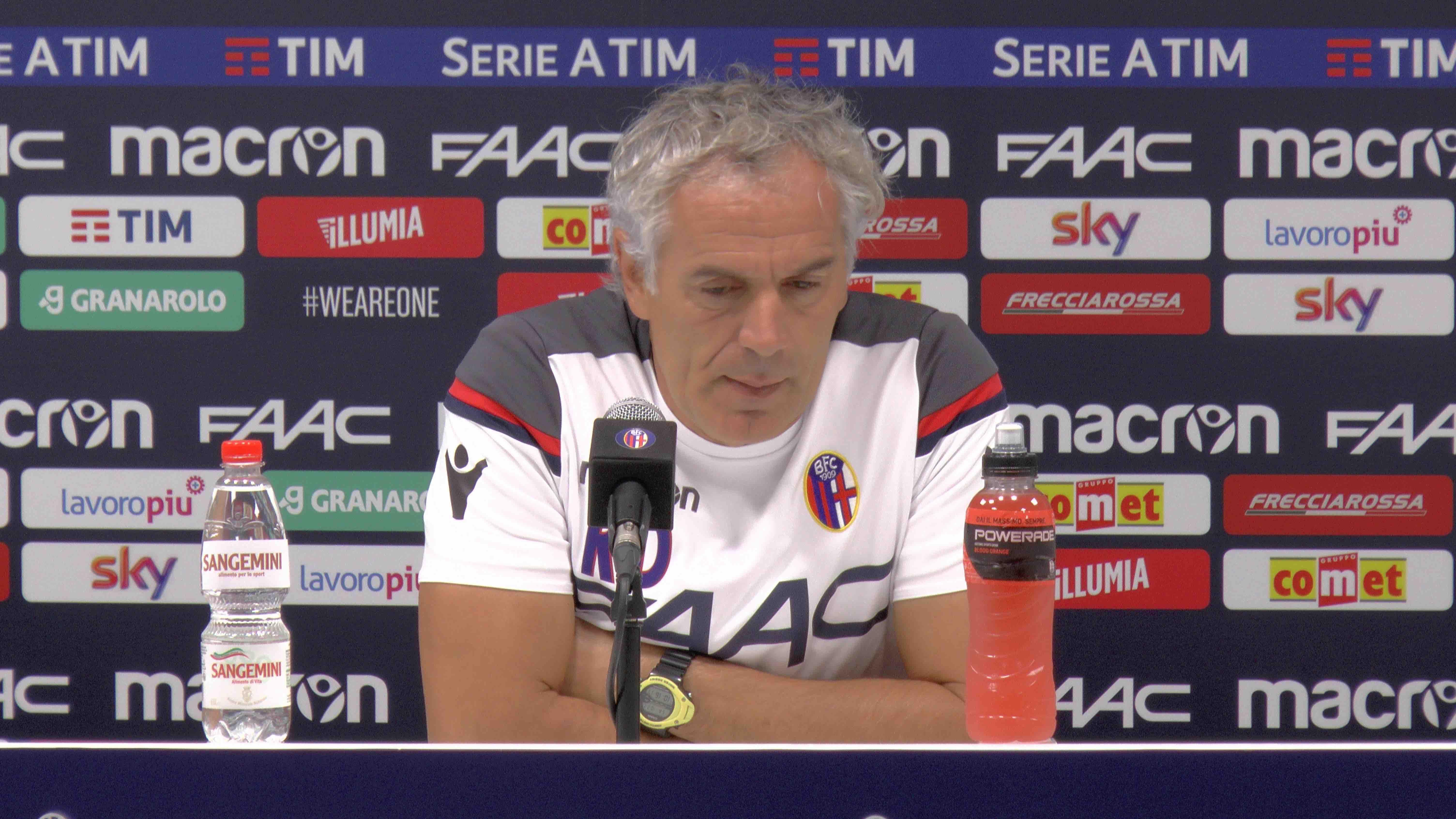 Video - Donadoni presenta Atalanta - Bologna