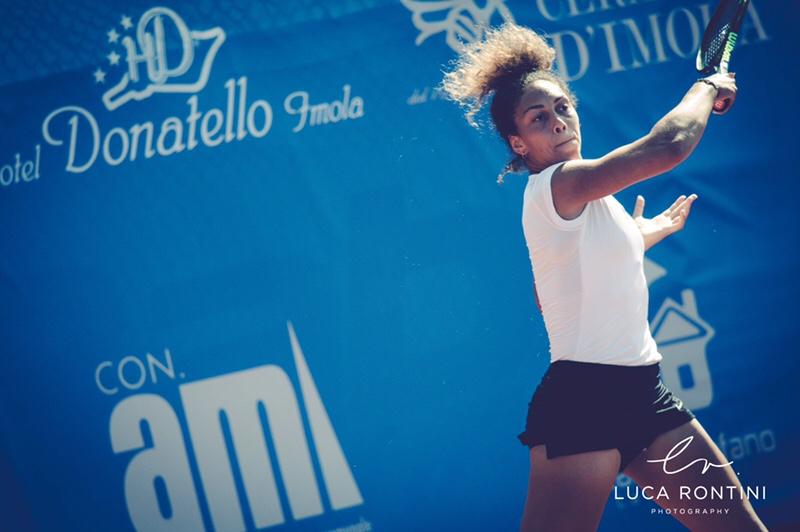 Tennis, la Rubini protagonista a Imola