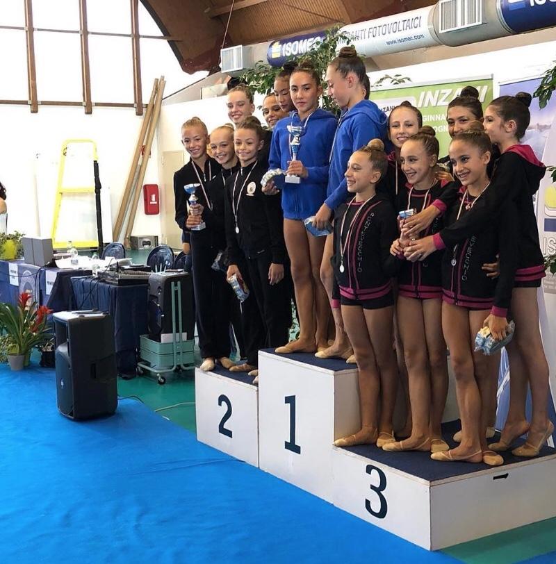 Ginnastica, bronzo per la Pontevecchio con le Allieve Gold 2