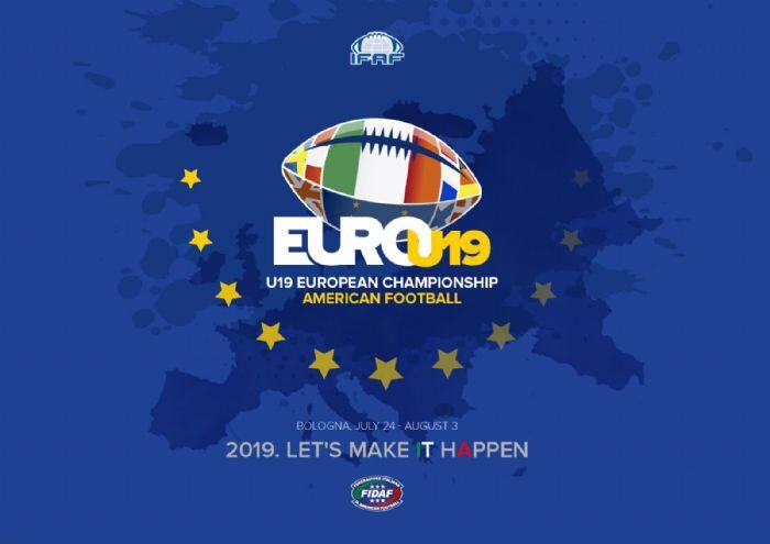 Football americano, a Bologna gli Europei Under 19