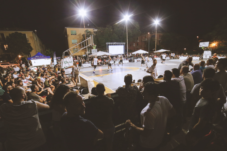Playground, definiti i play off del torneo Volta 3x3