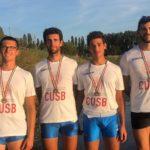 Canottaggio, bronzo agli universitari per il Cus