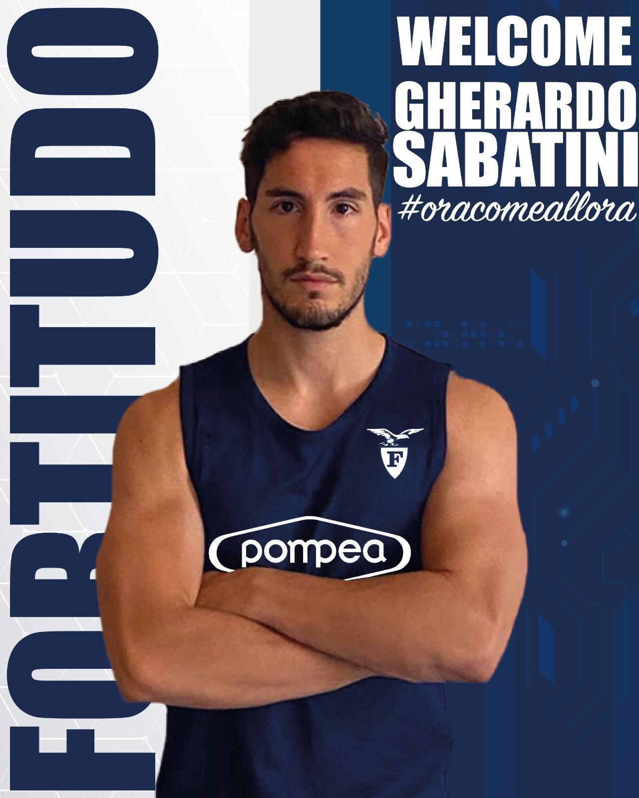 BASKET: Dolce ritorno alla Fortitudo Bologna per Gherardo Sabatini
